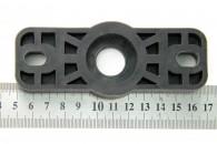 Подшипниковый узел (корпус подшипника) из стеклонаполненного полиамида под подшипник 6201