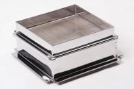 Фильтр квадратный двойной для процеживания меда