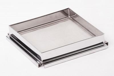 Фильтр квадратный одинарный для процеживания меда