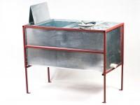Стол, совмещенный с медогонкой, 4-х рамочный, окрашенный (корпус оцинковка)
