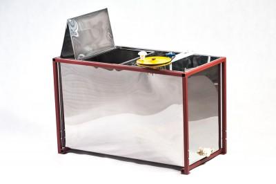 Стол, совмещенный с медогонкой, 3-х рамочный, окрашенный (корпус оцинковка)