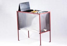 Стол, совмещенный с медогонкой, 3-х рамочный, окрашенный (корпус нержавейка)